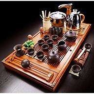 Bàn trà điện thông minh nan gỗ Vượng Tài thumbnail