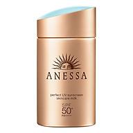 Kem Chống Nắng Dưỡng Da Dạng Sữa Bảo Vệ Hoàn Hảo Anessa Perfect UV Sunscreen Skincare Milk SPF 50+ Pa++++ thumbnail