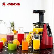 Máy ép chậm Hongxin RH311 cho lượng nước ép nhiều hơn, giữ được nhiều chất dinh dưỡng hơn thumbnail