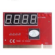 Card test Mainboard 4 số dùng cho main có khe cắm PCI Đỏ thumbnail