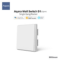 Xiaomi Aqara D1 Công Tắc Thông Minh Không Dây Công Tắc Đơn Dây Cháy Không Dây ZigBee Âm Tường Nhà Thông Minh Điều Khiển Ánh Sáng Cho App Mihome thumbnail