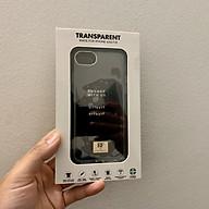 Ốp lưng chống sốc hàng hiệu Richmond & Finch - Transparent (trong suốt) cho iPhone - Hàng nhập khẩu thumbnail