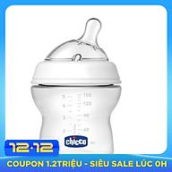Bình sữa núm nghiêng Pisa Natural Feeling Chicco cho trẻ từ sơ sinh thumbnail