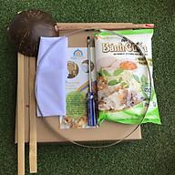 Bộ Khung Vải Tráng Bánh Cuốn tặng kèm Bột Bánh Cuốn thumbnail