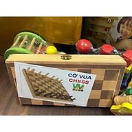 Bàn Cờ Vua đồ chơi gỗ thông minh sang trọng giành cho bé từ 5 tuổi trở lên thumbnail
