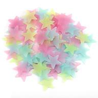 100 ngôi sao dán tường dạ quang trang trí thumbnail