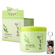 Kem massage thảo dược trà xanh Green tea Massage Cream Hàn Quốc 300ml Tặng Móc khóa thumbnail