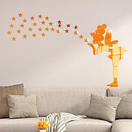 Bộ decal trang trí dán tường 3D sáng tạo cao cấp (M8) Thiên thần thumbnail