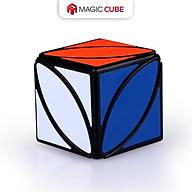 Đồ chơi ảo thuật Rubik 2x2 3x3 4x4 5x5 Qiyi , Khối lập phương Rubic Màu đen Hình lá phong SPEED CUBE thumbnail