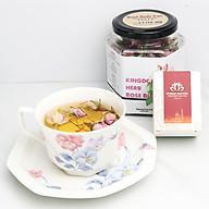 Combo Kingdom Saffron Nhụy Hoa Nghệ Tây và Nụ Hồng Khô Iran Thượng Hạng (1 Hộp Saffron 1g + 1 Hộp Nụ Hoa Hồng Khô 50g) thumbnail