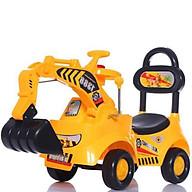 Xe cần cẩu máy xúc chòi chân cho bé - XC1388 thumbnail