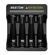Bộ sạc pin AA AAA Beston chính hãng 1.5V Sạc nhanh Tự ngắt Có đèn báo đầy - Hàng nhập khẩu thumbnail