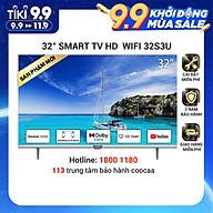 Smart TV HD Coocaa 32 Inch Wifi - Model 32S3U - Hàng chính hãng thumbnail