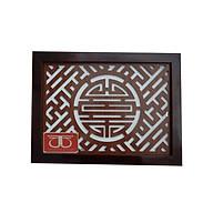 Tấm chống ám khói hương bàn thờ Tháng Tháng Thuận mẫu chữ thọ - TL282 thumbnail