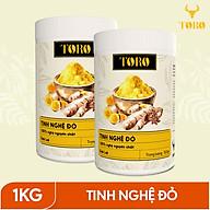 Bộ 2 Hũ Tinh bột nghệ đỏ TORO Curcumin -100% tinh nghệ đỏ từ Dak Lak - 500g hũ thumbnail