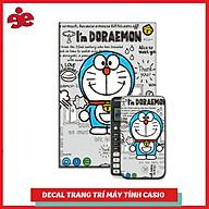 DECAL TRANG TRÍ MÁY TÍNH CASIO VINACAL NHÂN VẬT PHIM HOẠT HÌNH DOREMON 037 thumbnail
