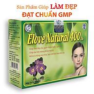 Elove Natural 400 - Hỗ trợ chống oxy hóa, Hạn chế lão hóa da, Giúp làm đẹp da, Giảm nếp nhăn, thâm nám, sẹo, mụn trứng cá (Hộp 30 viên) thumbnail