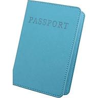 Bao da Hộ chiếu Passport kiêm ví đựng thẻ thumbnail