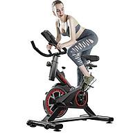 Xe đạp tập gym, xe đạp tập tại nhà loại 1 , xe đạp thể thao dụng cụ tập gym tại nhà, bàn đạp kiểu lồng chân, yên xe và tay nắm có thể chỉnh độ cao, gọn gàng, không diện tích thumbnail