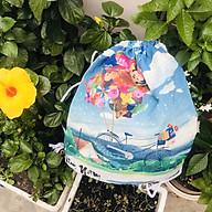 Balo Dây Rút Vải Tote Canvas - Quà Lưu Niệm - Mỹ Nghệ Thanh Toàn - Xe Bóng Bay - BLCV06 thumbnail