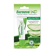 Son dưỡng trị thâm môi BURNOVA PLUS ALOE VERA LIPCARE 10g thumbnail