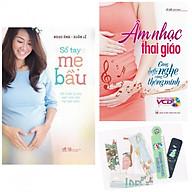 Combo Sổ Tay Mẹ Bầu + Âm Nhạc Thai Giáo - Càng Nghe Càng Thông Minh + Tặng Kèm Bookmark AHA thumbnail