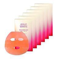 Mặt nạ làm trắng da Astalift White Brightening Mask 6 miếng thumbnail