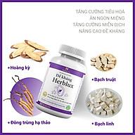 Viên uống ngủ ngon An thần Herblux, cải thiện mất ngủ, giảm căng thẳng, đau đầu thumbnail