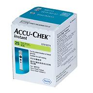 Que thử đường huyết Accuchek Instant 25 (hộp 25) thumbnail