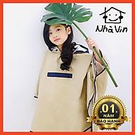 Áo mưa em bé cao cấp, a o mua cho bé Style Hàn Quốc thumbnail