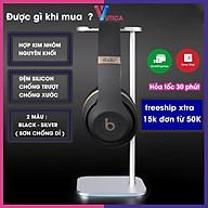 Giá treo tai nghe nhôm nguyên khối đệm silicon - Aluminium Headphone Stand - Giá đỡ tai nghe thumbnail