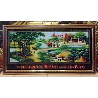 Đồng hồ lịch vạn niên tranh Quê Hương - MS442 thumbnail
