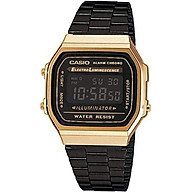 Casio Collection Unisex Adults Watch A168WEGB-1BEF thumbnail