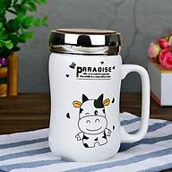 Ly Sứ Giữ Nhiệt Bò Sữa Nắp Tráng Gương (Mẫu Ngẫu Nhiên) thumbnail