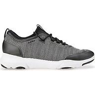 Giày Sneakers Nữ GEOX D NEBULA X A Black White thumbnail