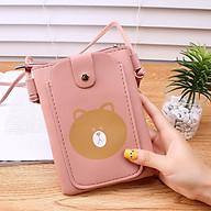 Túi đeo chéo nữ mini hình gấu đựng điên thoại di động dễ thương nhỏ gọn TN156 thumbnail
