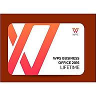 Phần mềm WPS Office 2016 Professional (Lifetime) - Hàng chính hãng thumbnail