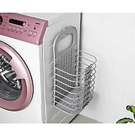 Giỏ đựng đồ máy giặt gấp gọn tiện lợi + móc dán siêu chắc khỏe thumbnail