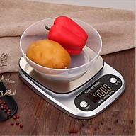 Cân điện tử 3kg 0.1g cao cấp V1 ( Tặng 03 nút cao su giữ dây điện ) thumbnail