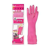 Găng tay cao su thiên nhiên có móc treo cao cấp Hàn Quốc (Asobu - Dài 37cm) thumbnail