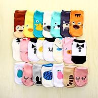 Sét 5 đôi tất cho bé sơ sinh cho bé gái thumbnail