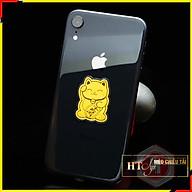 Miếng dán điện thoại Mèo Chiêu Tài may mắn - HT SYS thumbnail