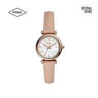 Đồng hồ nữ Fossil CARLIE MINI dây da ES4699 - màu nude thumbnail