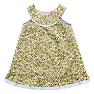 Đầm Đô Bé Gái Búp Bê Hoa CucKeo Kids T101837 - Vàng thumbnail