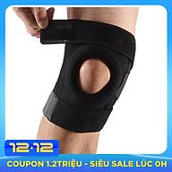 Miếng đệm bảo vệ đầu gối thể thao co giãn có khóa dán, dụng cụ bảo vệ đầu gối thumbnail
