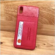 Ốp lưng iPhone XR hiệu Gebei Leather TPU Card - Hàng Nhập Khẩu thumbnail