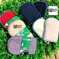 COMBO 2 cặp BỢ NHẤC NỒI sử dụng ĐA NĂNG. Với vải bọc Microfiber siêu sạch, lớp mút xóp mềm dẻo giúp cách nhiệt và thấm nước làm KHĂN LAU BẾP, MIẾNG RỬA CHÉN. Dụng cụ nhà bếp phù hợp mọi gia đình và quán ăn thumbnail