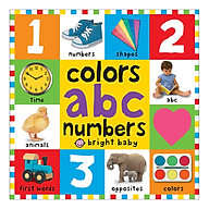 Colours ABC Numbers First 100 Books - First 100 Books (Board book) thumbnail