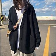 Áo khoác len - Áo cadigan nữ chữ ngực chất len dày mịn loại 1 - Hàng nhập trực tiếp Quảng Châu - 050 thumbnail