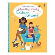 Usborne Sticker Dolly Dressing Cats And Kittens thumbnail